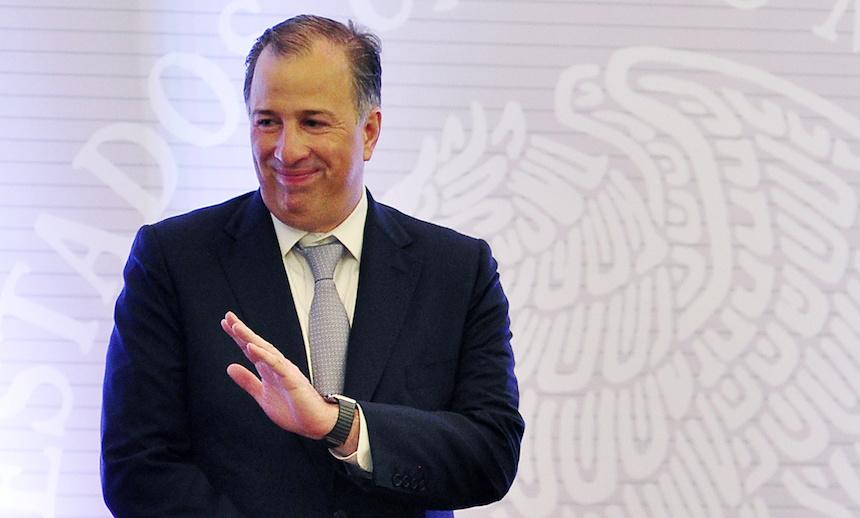 José Antonio Meade, candidato presidencial del PRI