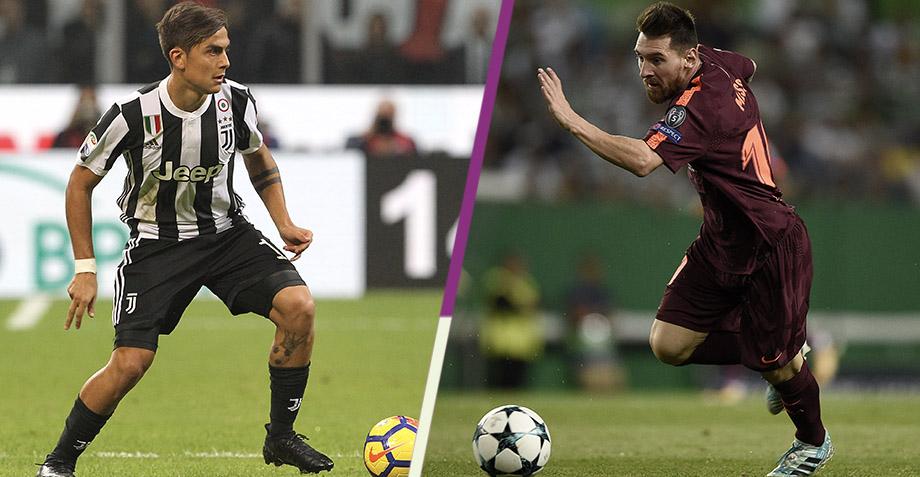 ¡Duelo de grandeza! Acá sus links y goles del Juventus contra Barcelona
