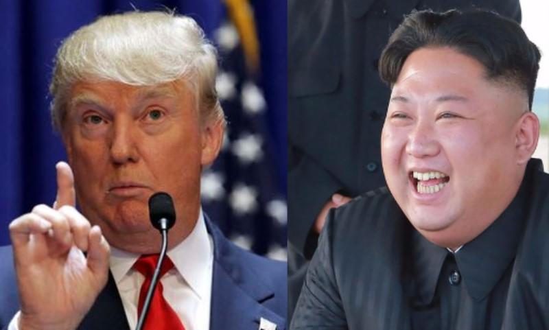 Trump llama 'chaparro y gordo' a líder norcoreano