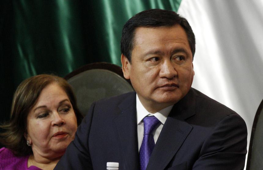 Miguel Ángel Osorio Chong, titular de la Segob