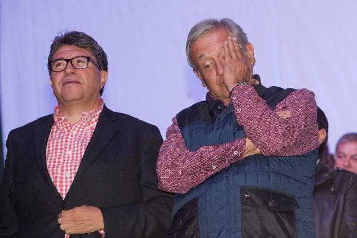 AMlo y Ricardo Monreal