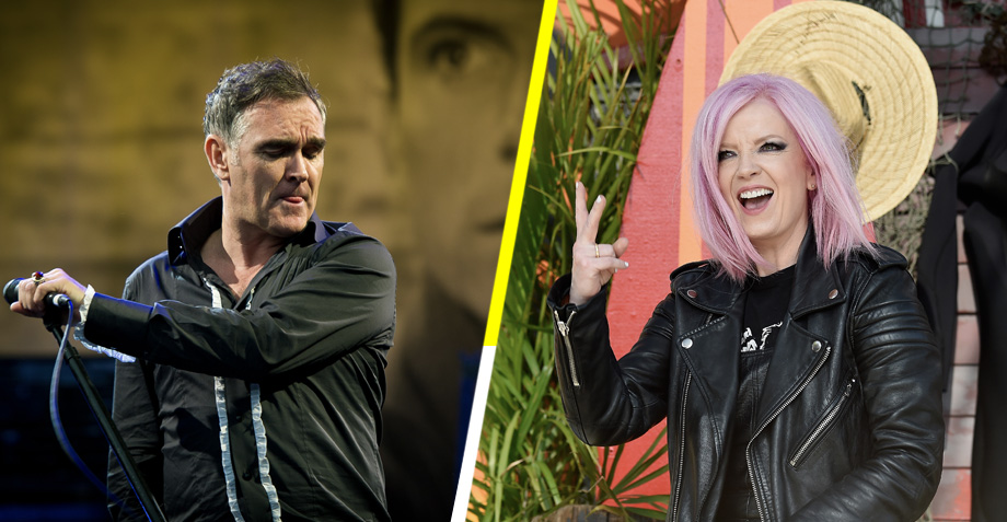 """Fuck you Morrissey! Fuck YOU"", atentamente Shirley Manson de Garbage"