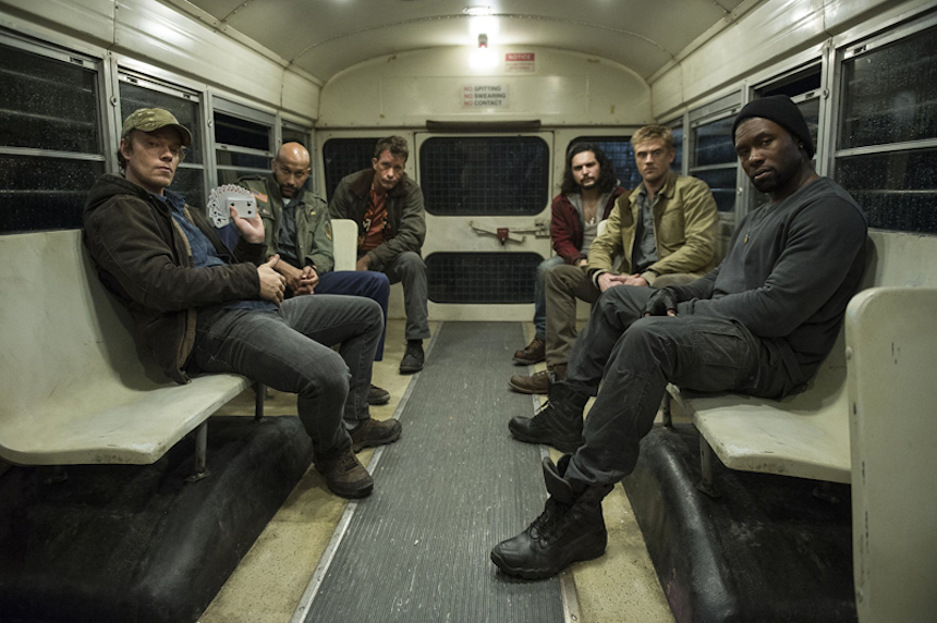 The Predator - Elenco