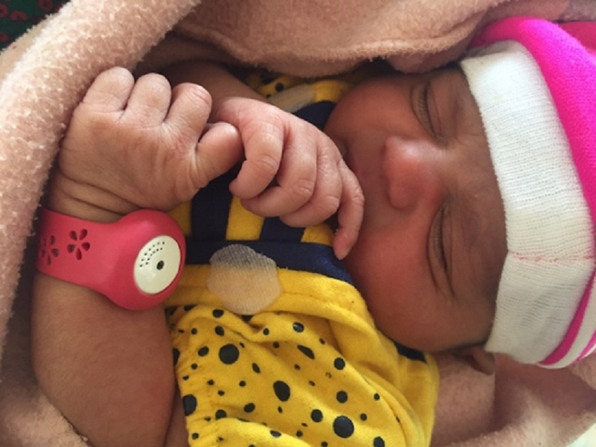 Pulseras para bebés