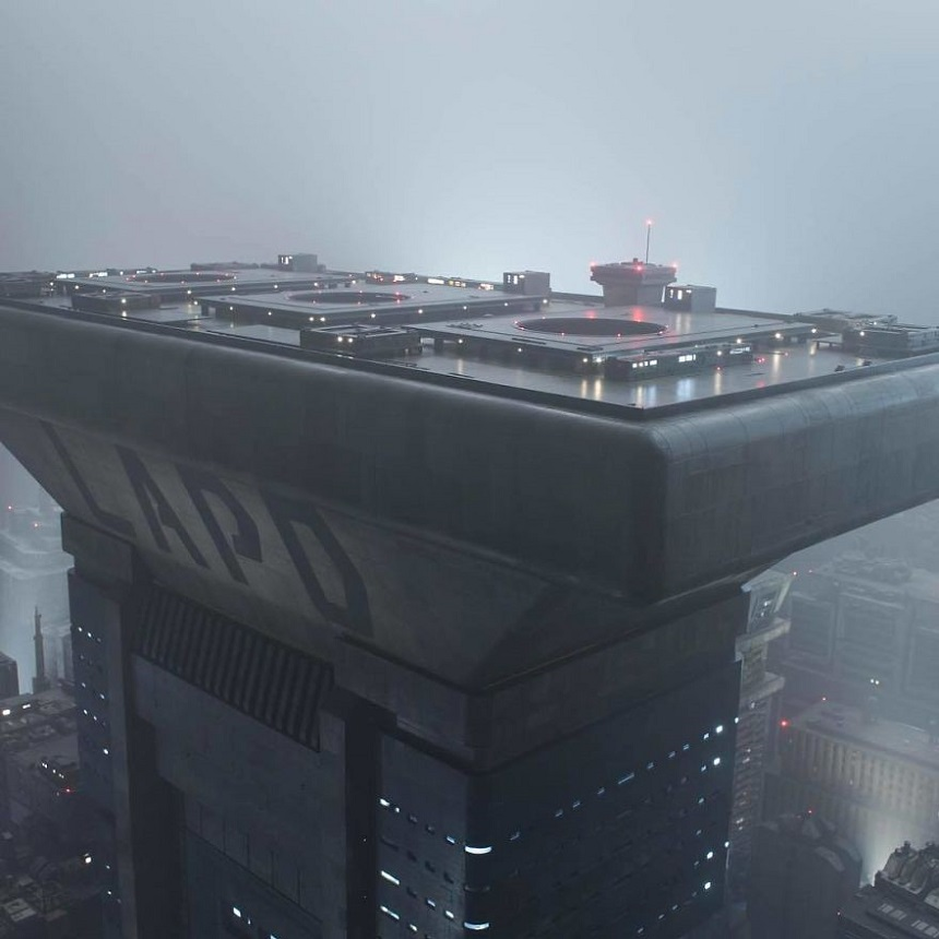 Escenarios miniatura de Blade Runner – Diseños