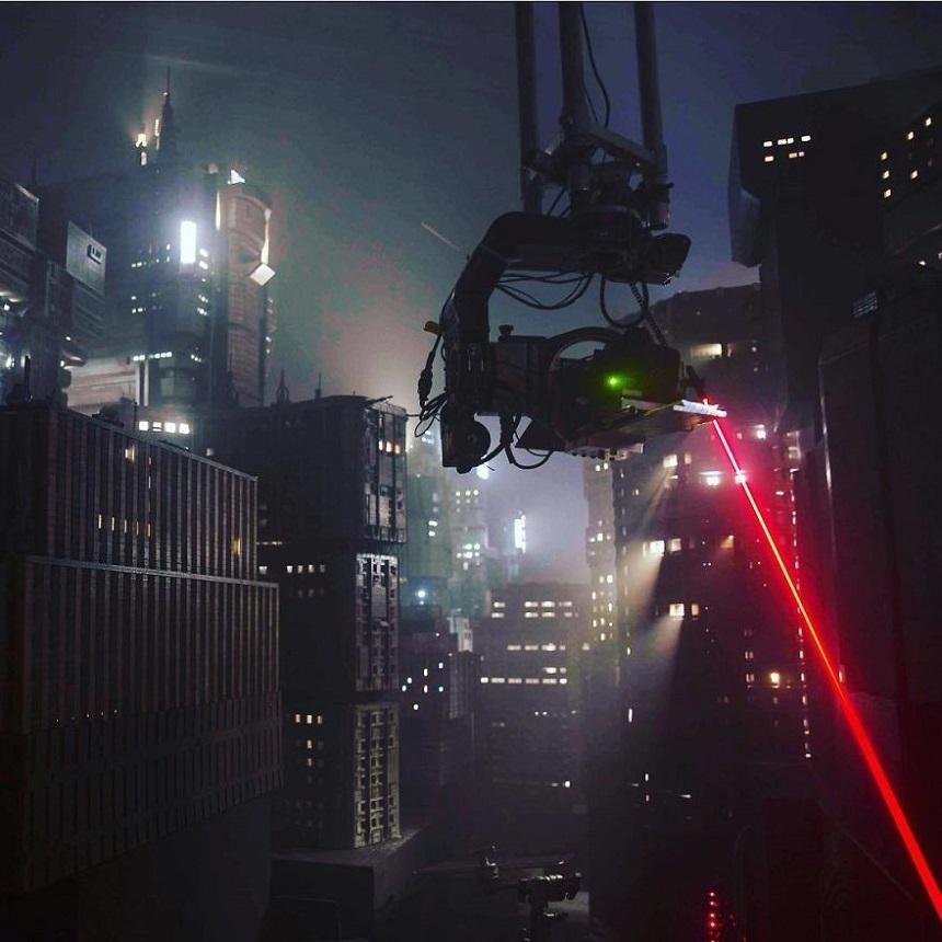 Escenarios miniatura de Blade Runner – Rodaje