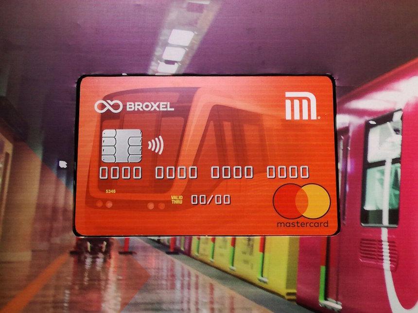 Tarjeta de débito del Metro