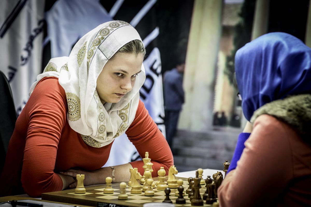 Anna-Muzychuk Campeona Mundial de Ajedrez