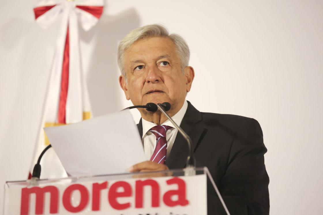 Andrés Manuel López Obrador, precandidato presidencial