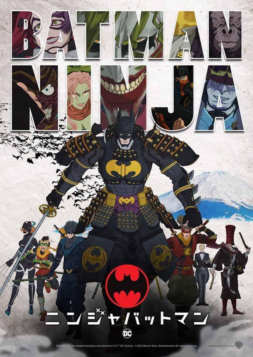 Póster de Batman Ninja