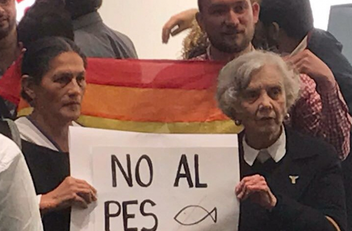Elena Poniatowska y Jesusa Rodríguez se oponen a la alianza Morena-PES