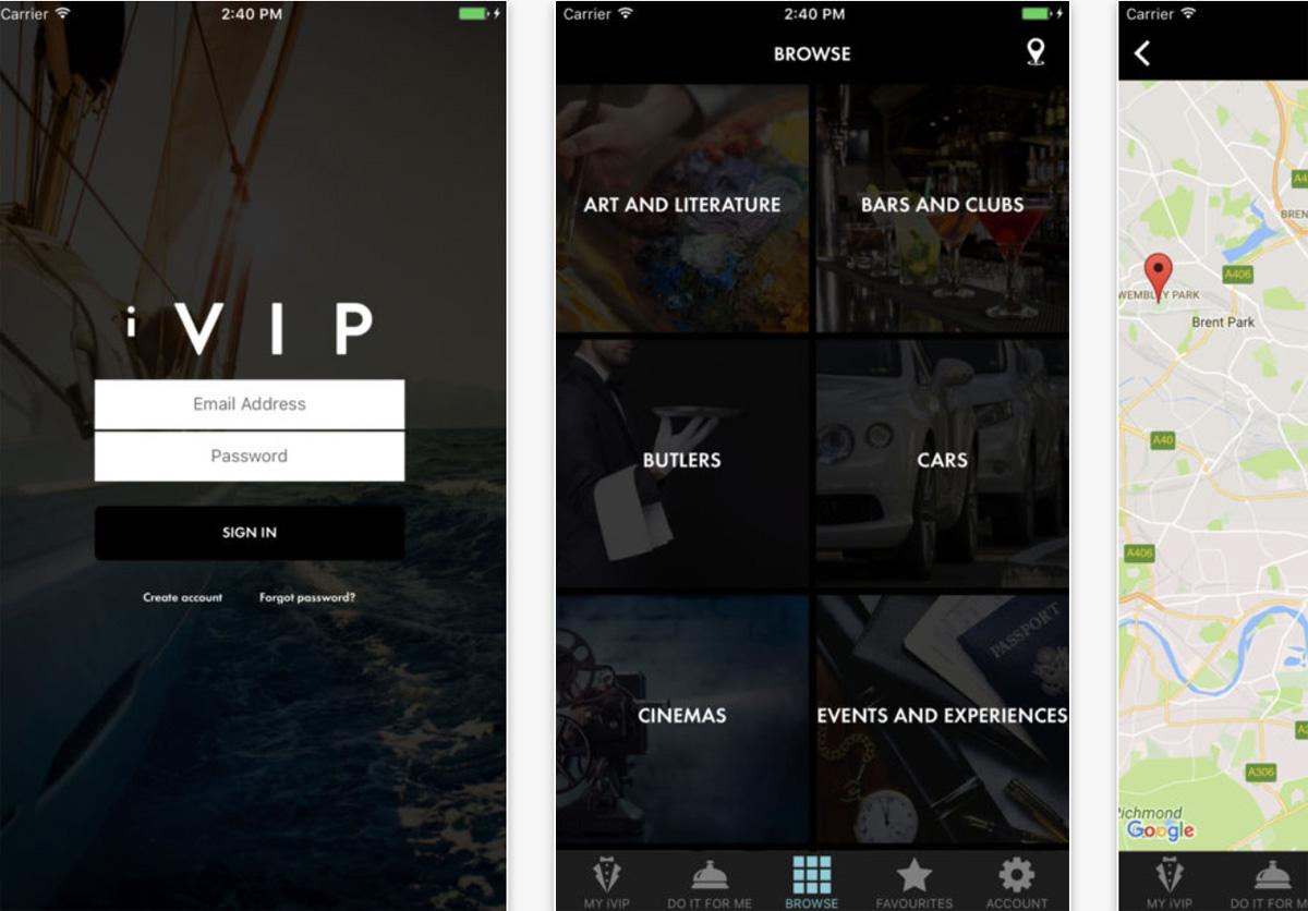iVIP App