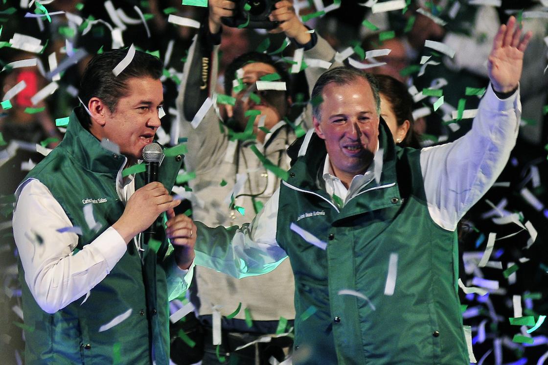 José Antonio Meade fue acogido por el PVEM rumbo al proceso electoral de 2018