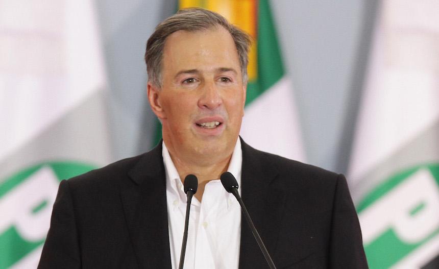 José Antonio Meade Kuribreña, precandidato único del PRI a la Presidencia de la República