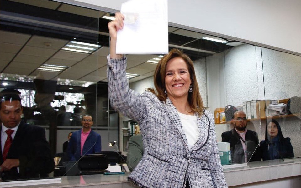Margarita Zavala Candidata Independiente