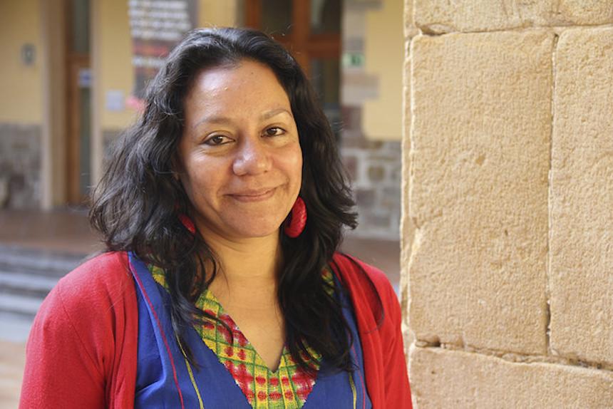 María Luisa Albores, integrante de Morena