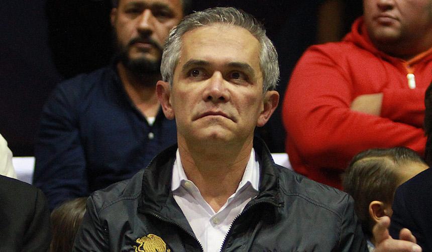 Miguel Ángel Mancera, jefe de Gobierno de la CDMX