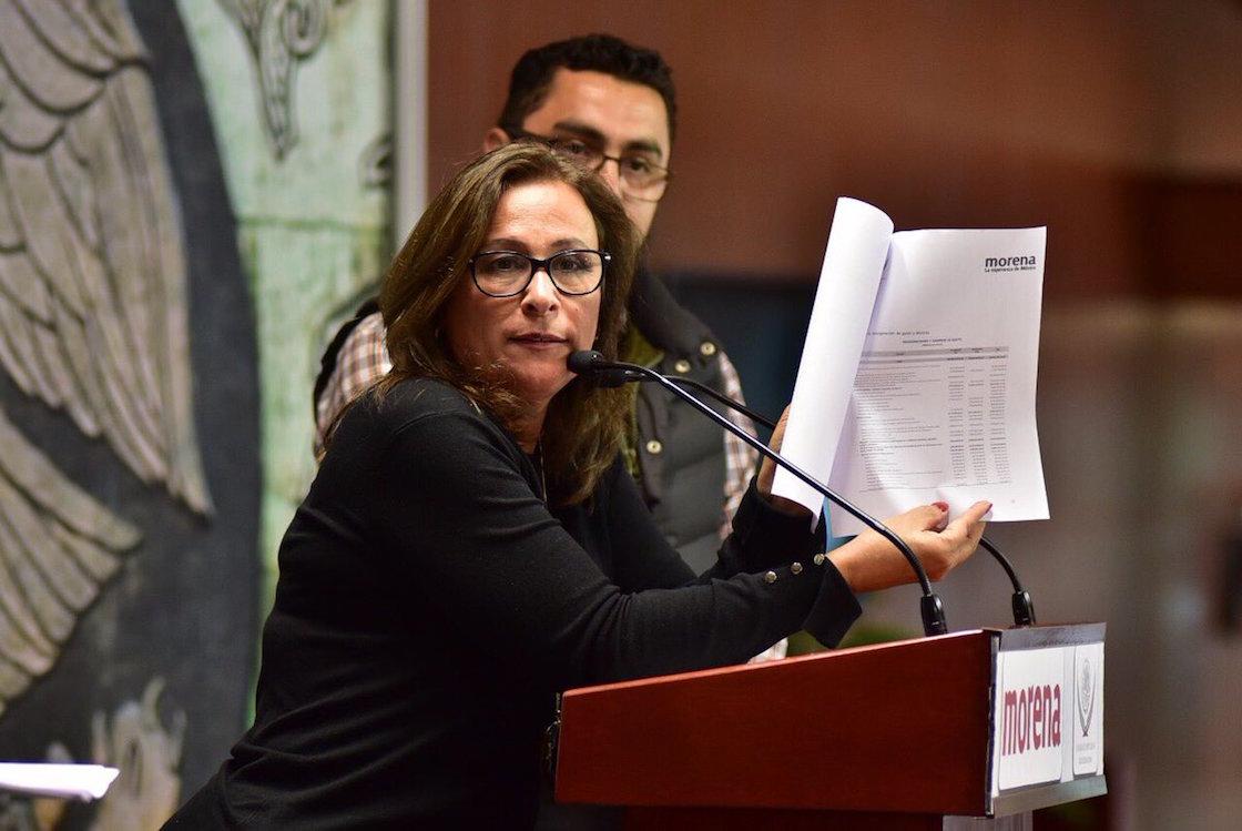 Rocía Nahle, diputada de Morena