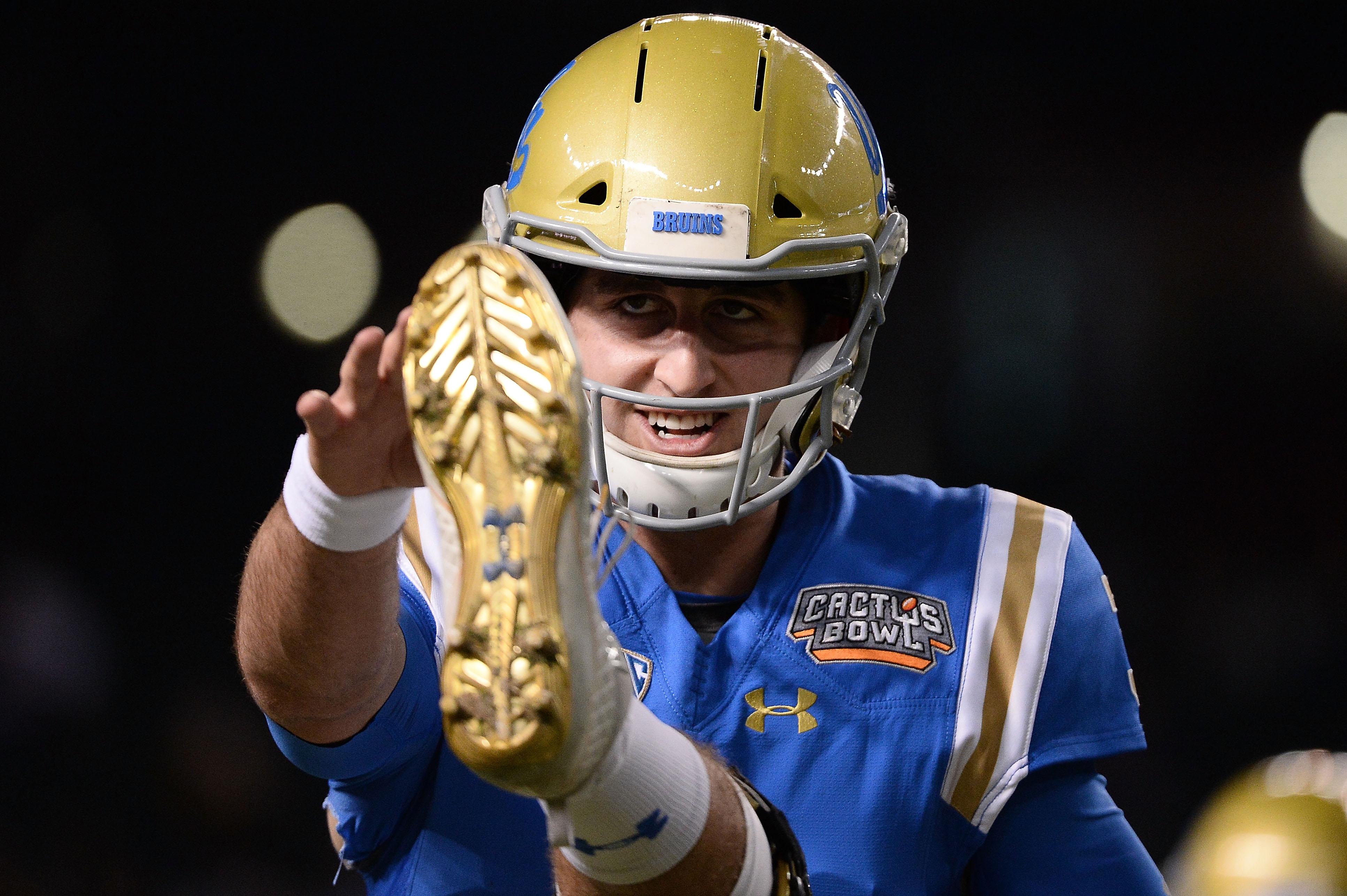 Josh Rosen UCLA Cactus Bowl 2017