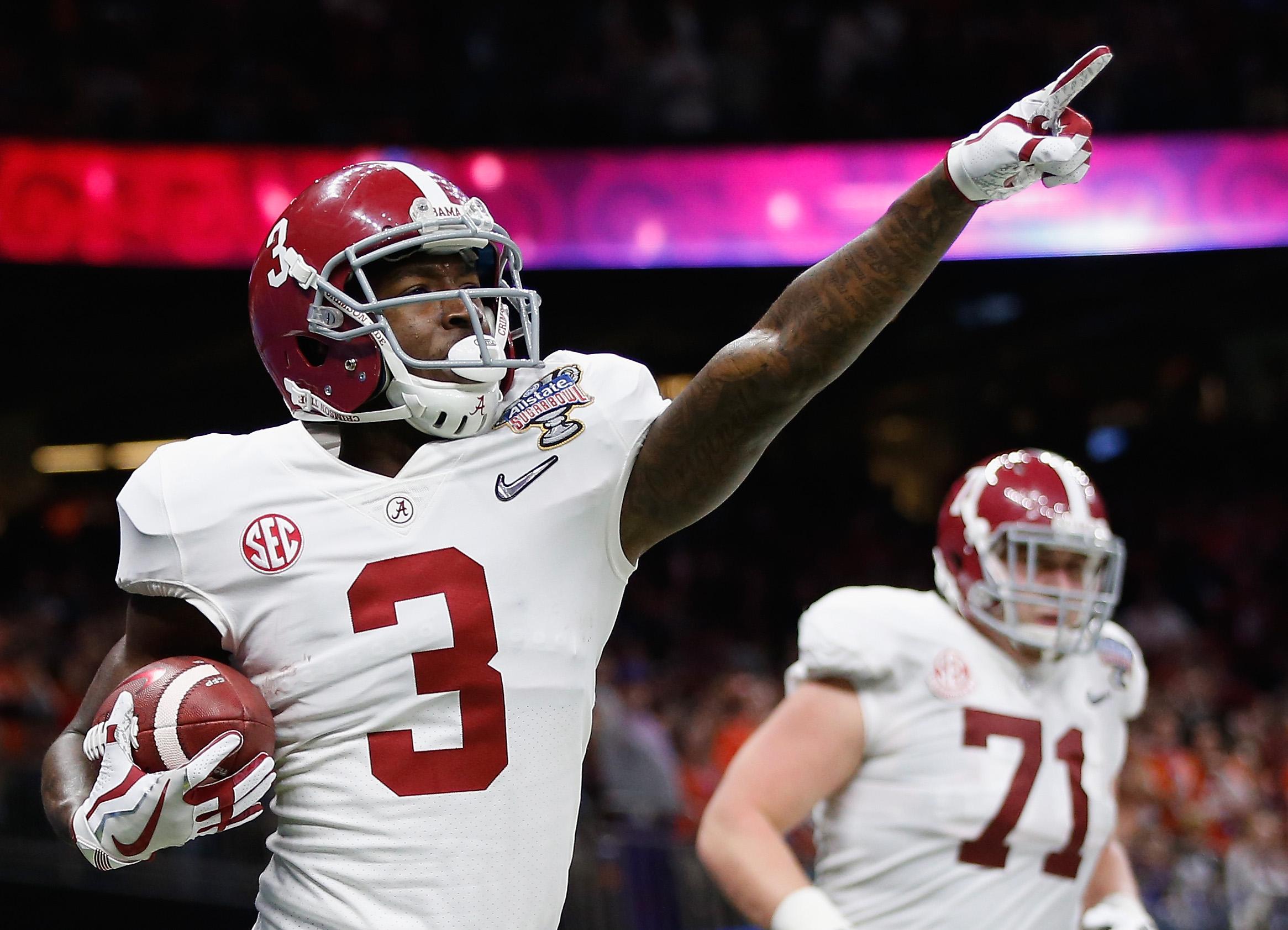 Alabama Calvin Ridley Sugar Bowl 2017