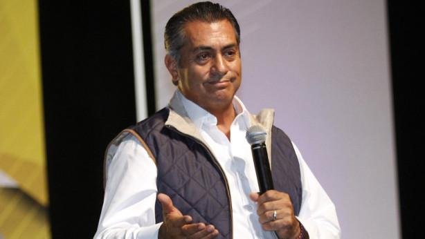 El candidato independiente, Jaime Rodríguez Calderón, El Bronco