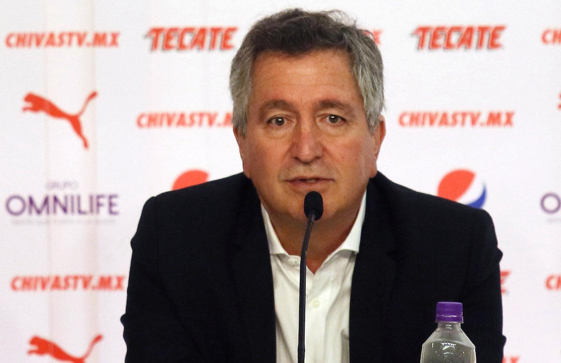 Jorge Vergara Madrigal, dueño de las Chivas