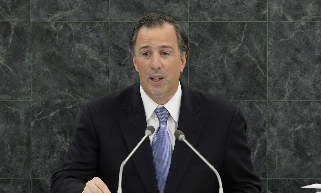 José Antonio Meade Kuribreña, precandidato de la alianza PRI-PVEM-PANAL