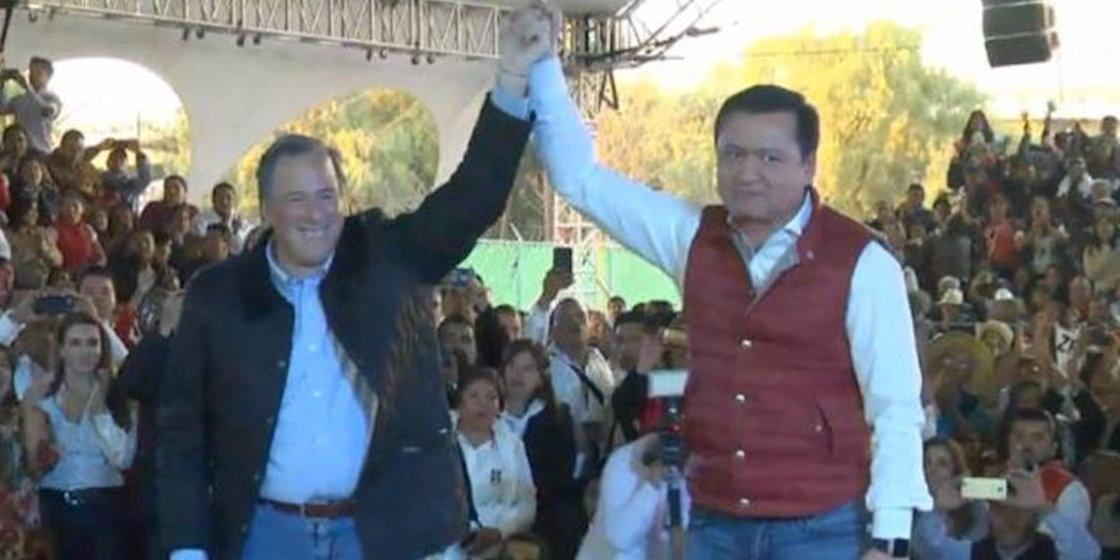 Miguel Ángel Osorio Chong y José Antonio Meade