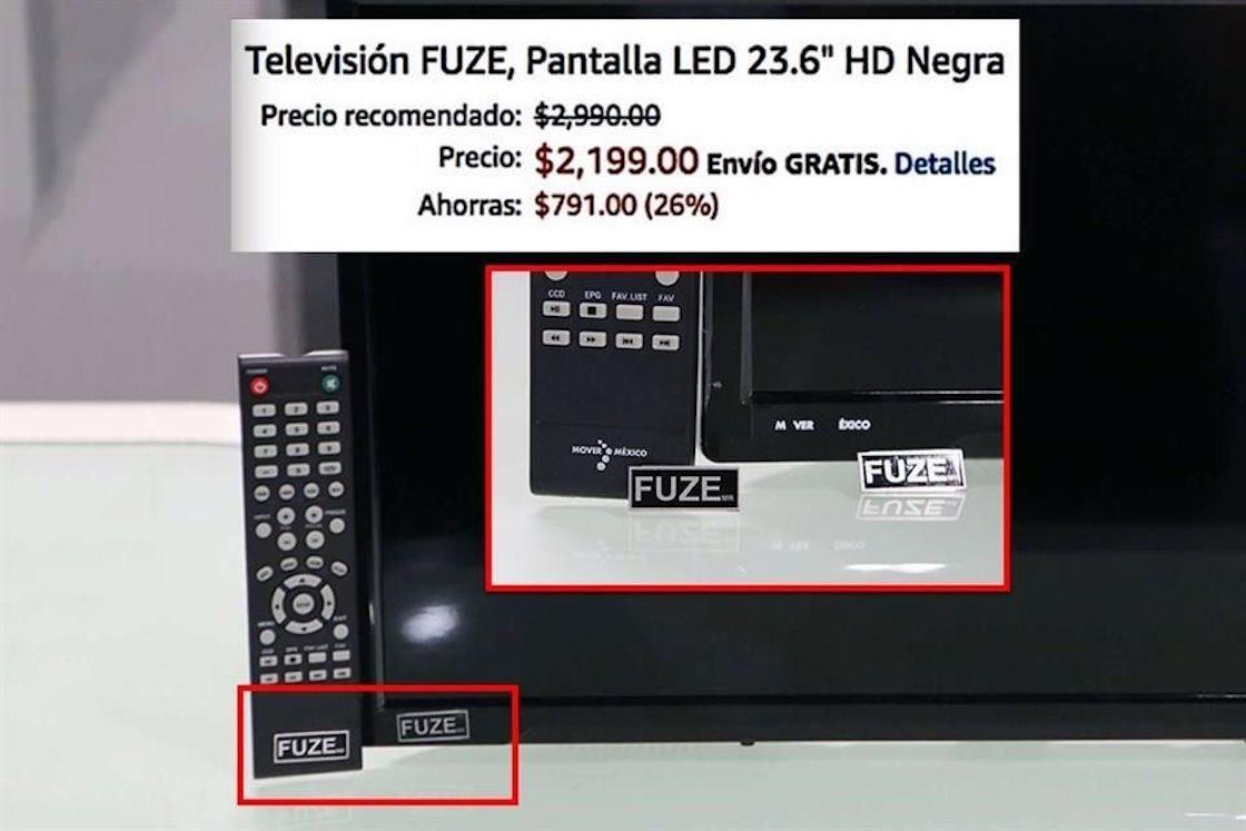 Empresa vende televisores que regalaba el Gobierno Federal