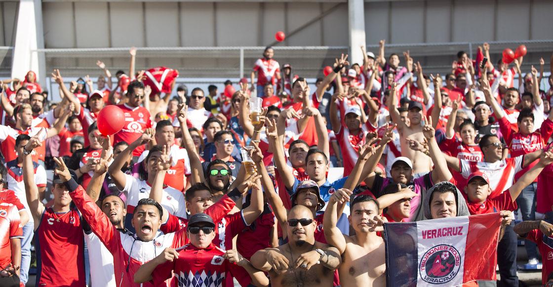 Lobos goleó a Veracruz en pleno duelo del descenso