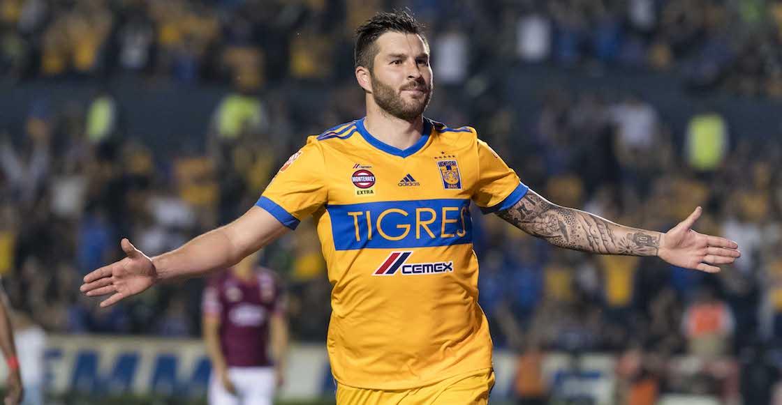 André Pierre Gignac Tigres UANL Monarcas Morelia Liga MX Clausura 2018