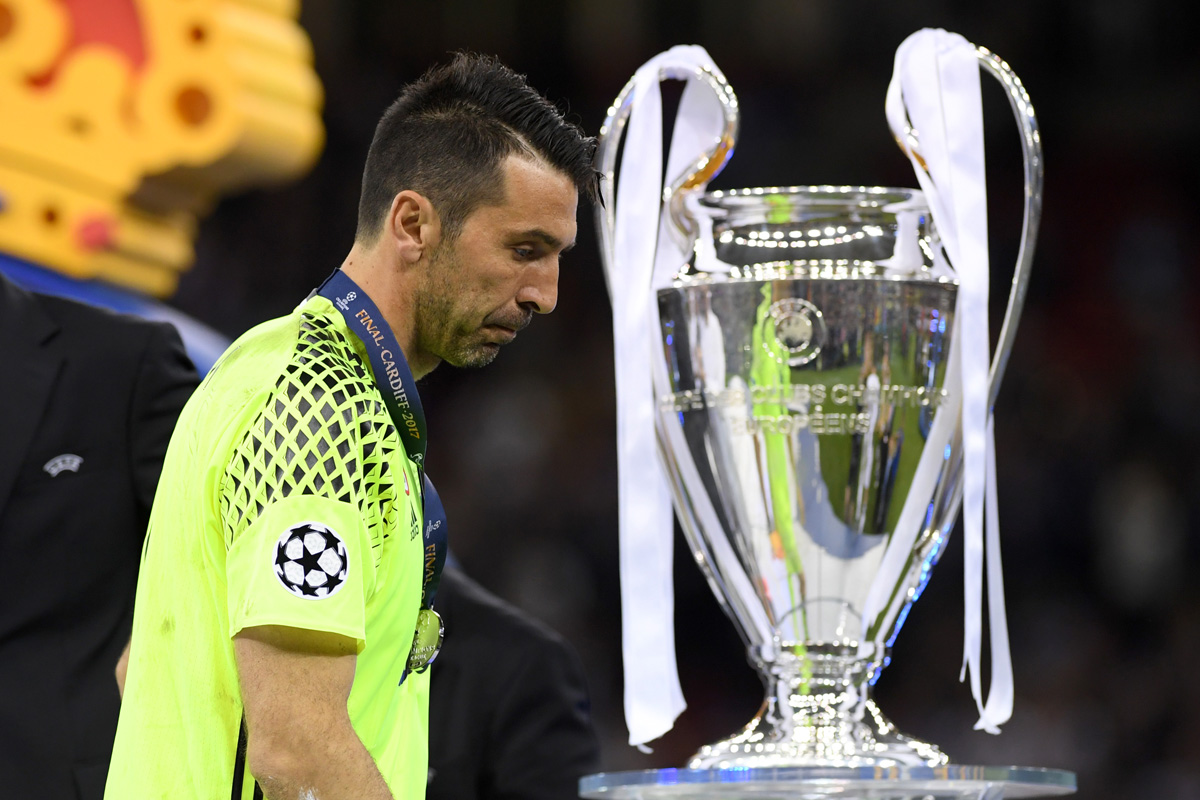 Gianluigi Buffon en la Final de la Champions League