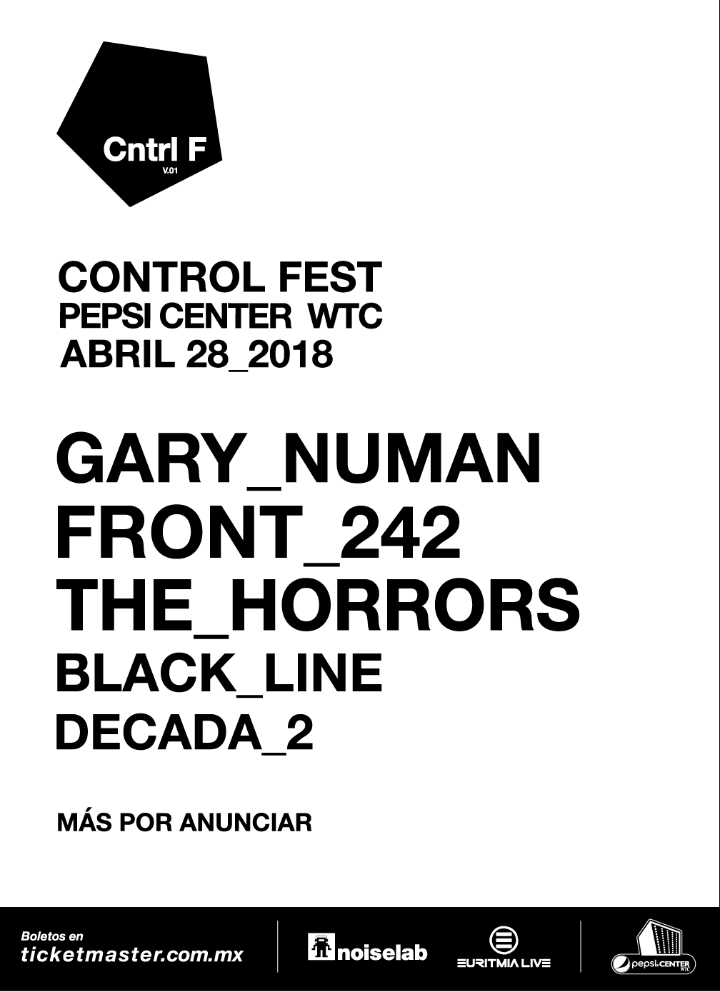 The Horrors se unen al control fest