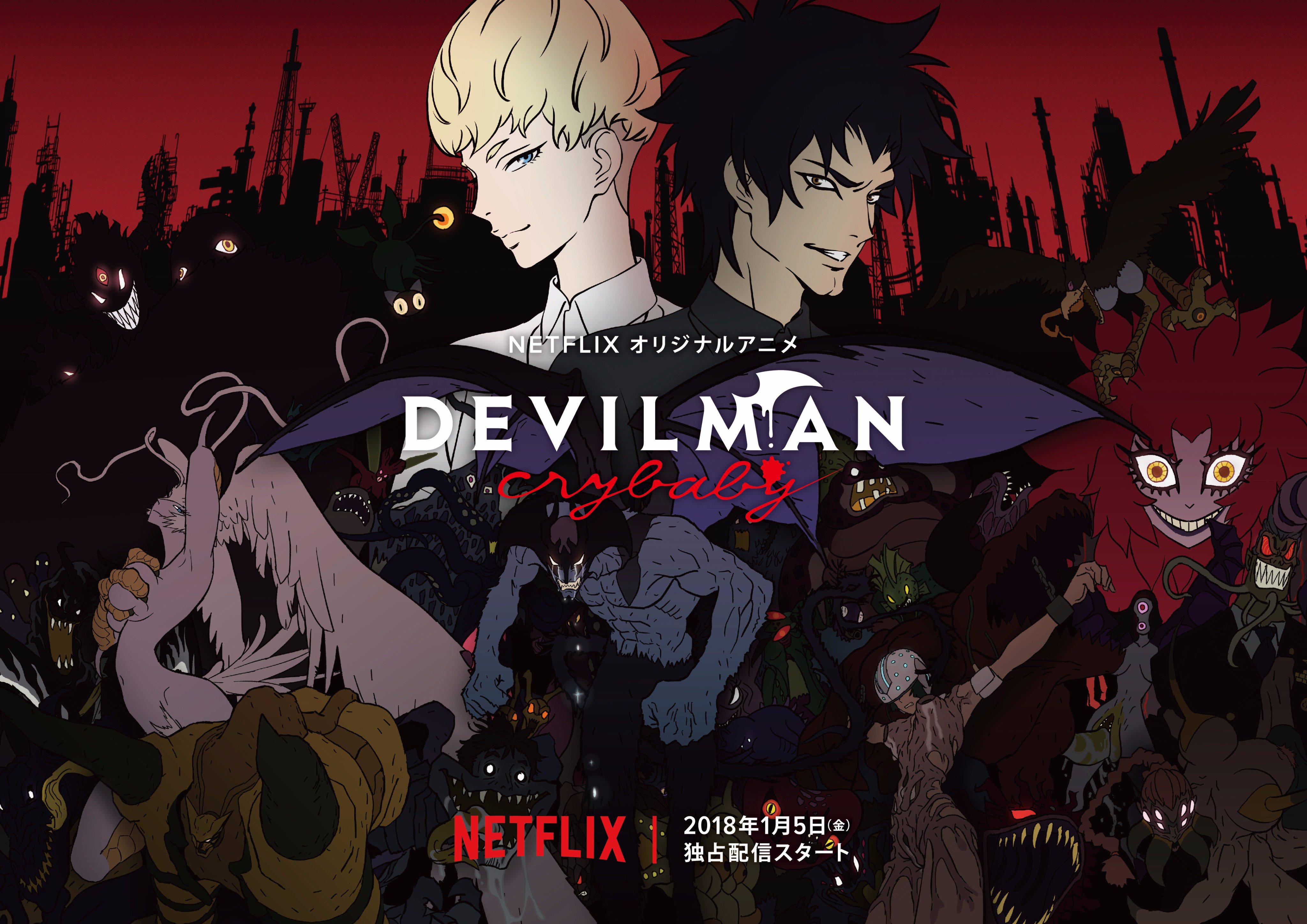 Póster oficial Devilman CryBaby