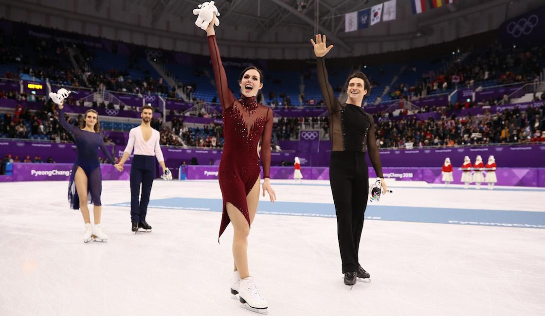 En una auténtica batalla de titanes en la danza sobre hielo, Canadá se llevó el Oro