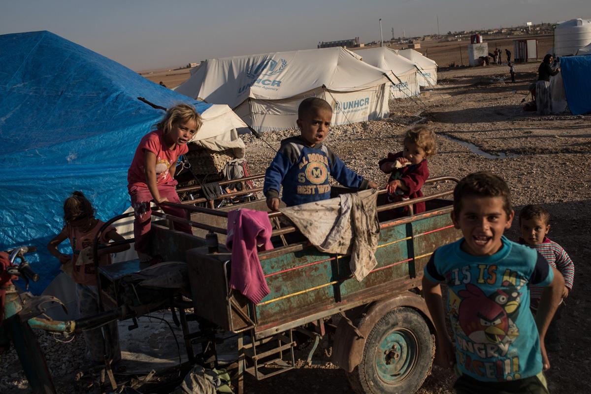 NIños de la Guerra en Siria