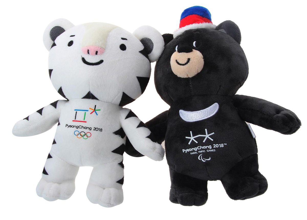 Mascotas de PyeongChang 2018