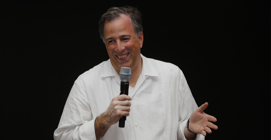 José Antonio Meade, precandidato del PRI a la presidencia
