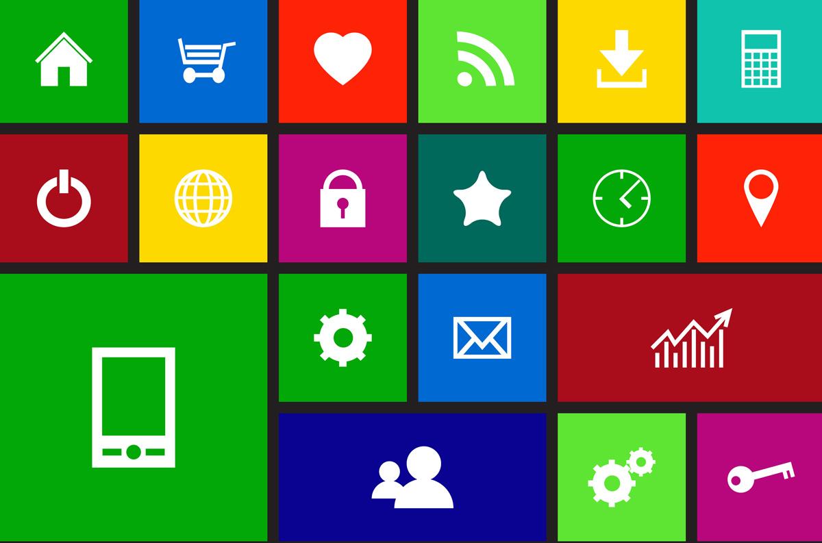 Iconos de Microsoft