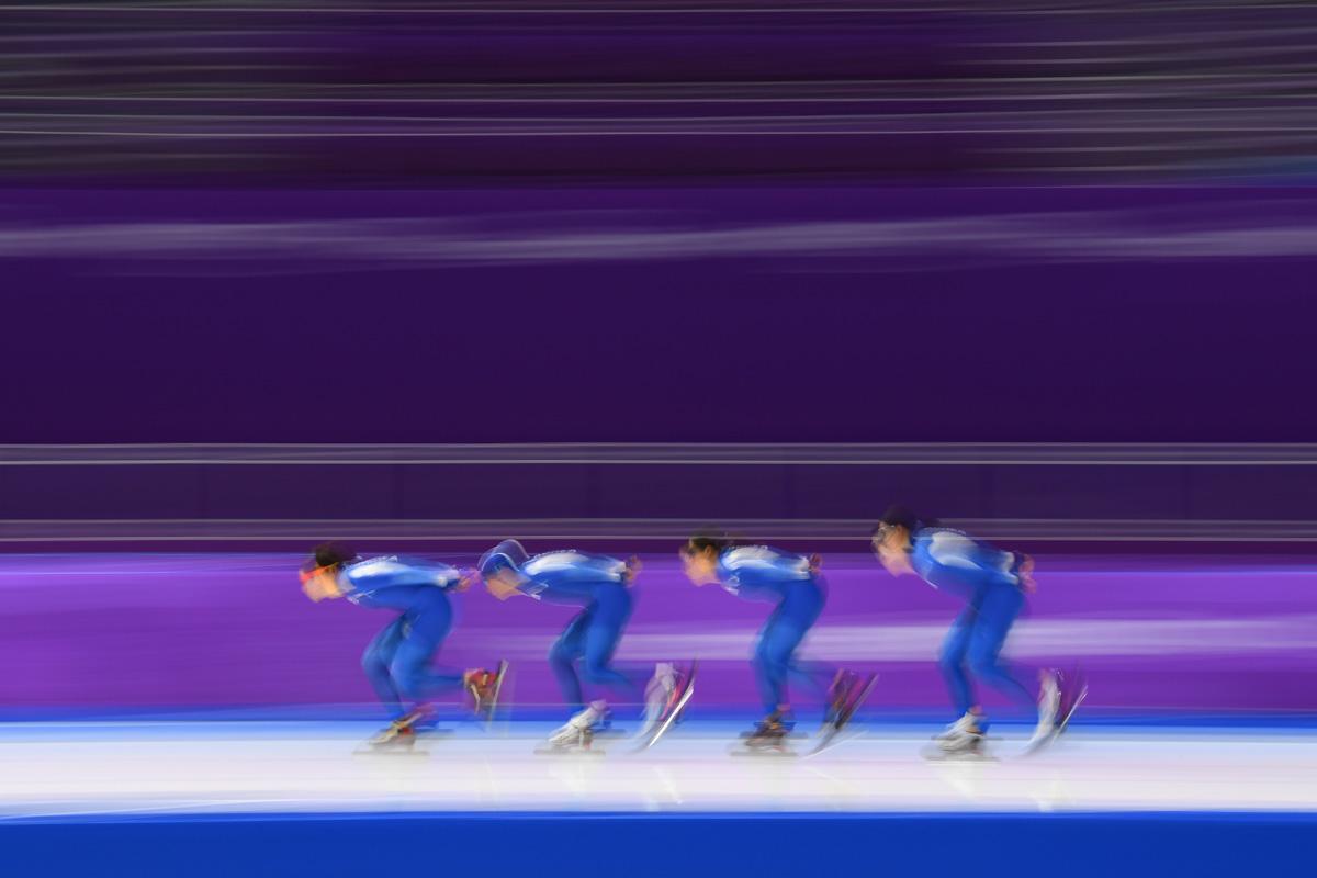 Patinaje de Velocidad Pyeongchang i