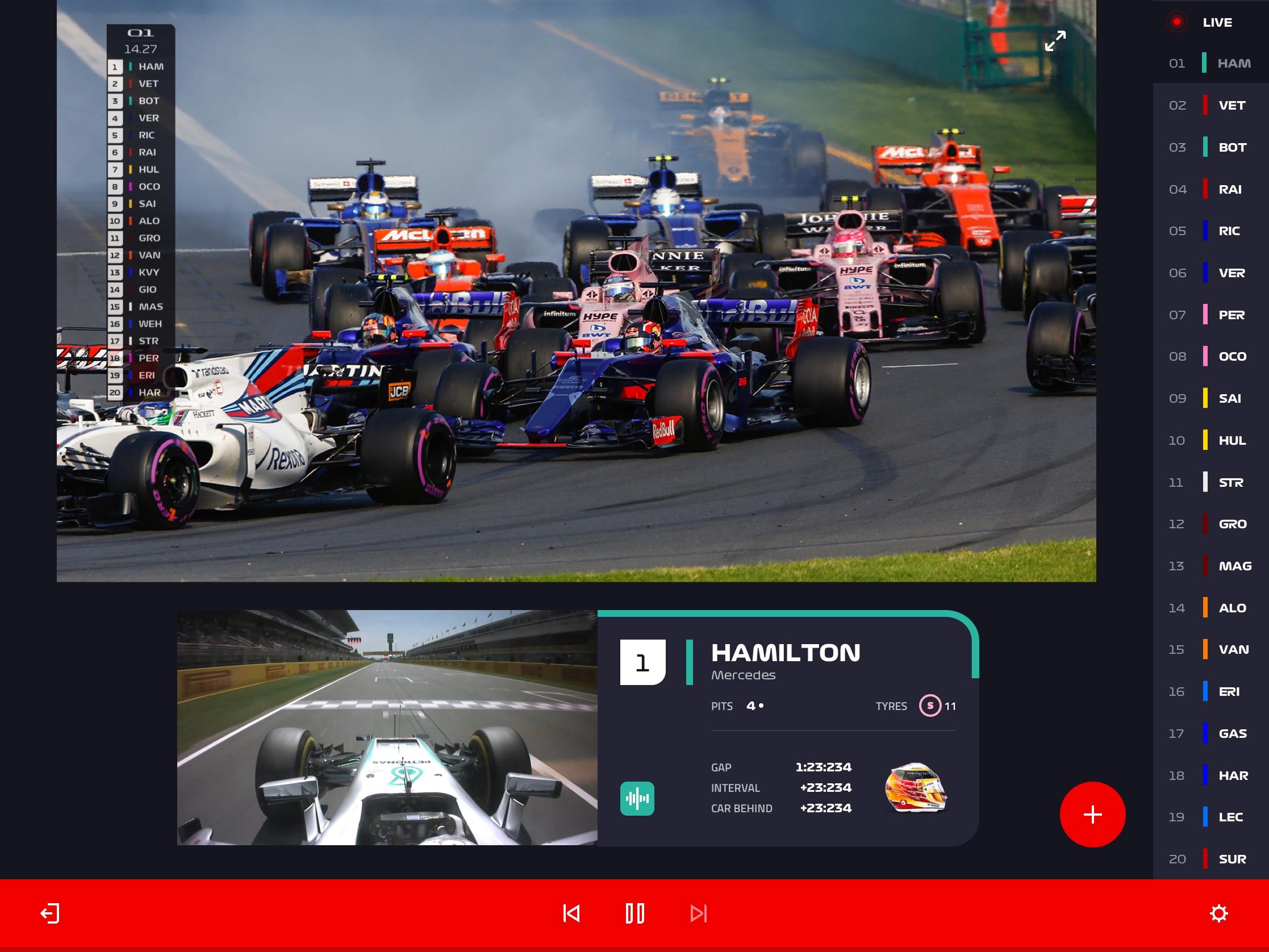 Conoce F1 TV, el nuevo servicio de streaming de la Fórmula 1