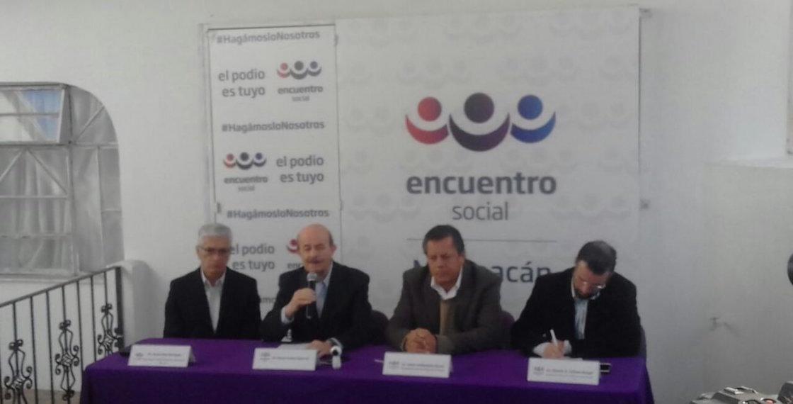 Fausto Vallejo será el candidato del PT y PES para la alcaldía de Morelia