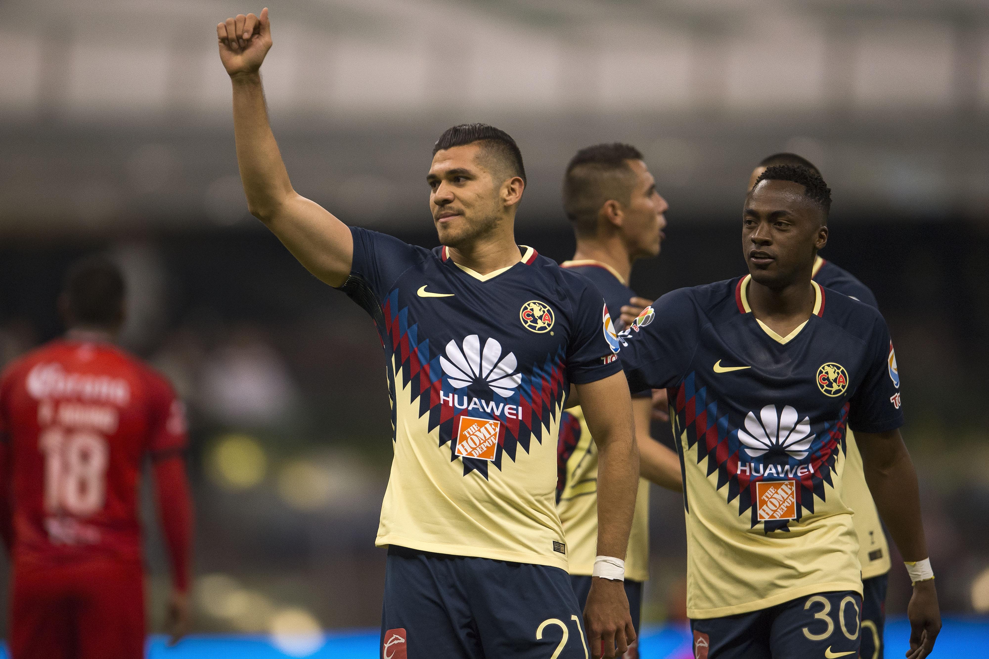 Hat-trick de Henry Martín con el América ante los Lobos BUAP Clausura 2018