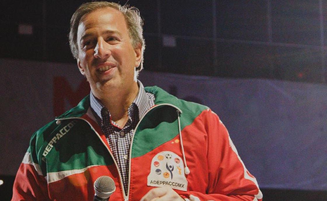 José Antonio Meade Kuribreña, candidato del PRI a la presidencia de la República