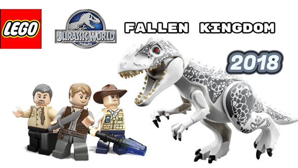 Asi Es El Lego 2018 Jurassic World Fallen Kingdom