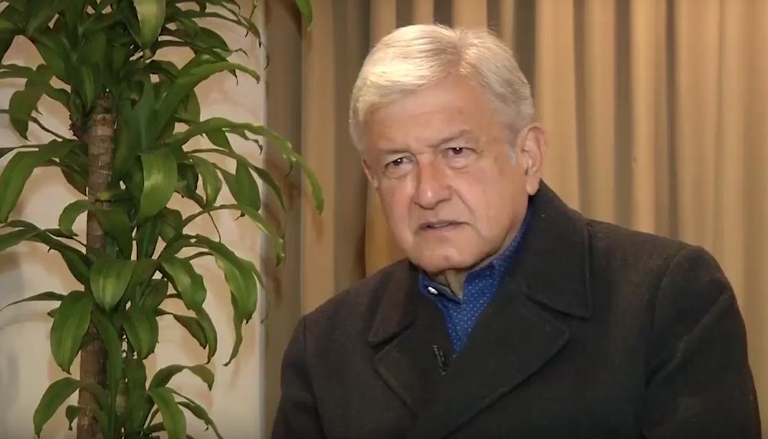 Andrés Manuel López Obrador, precandidato de Morena