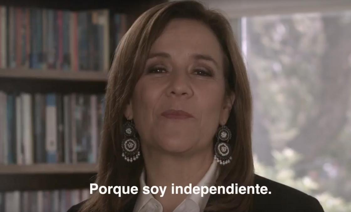 Margarita Zavala agradece a las personas que firmaron para lograr su candidatura presidencial