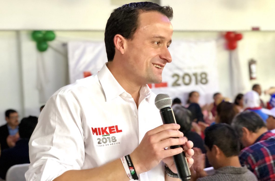 Mikel Arriola, precandidato del PRI al gobierno de la CDMX