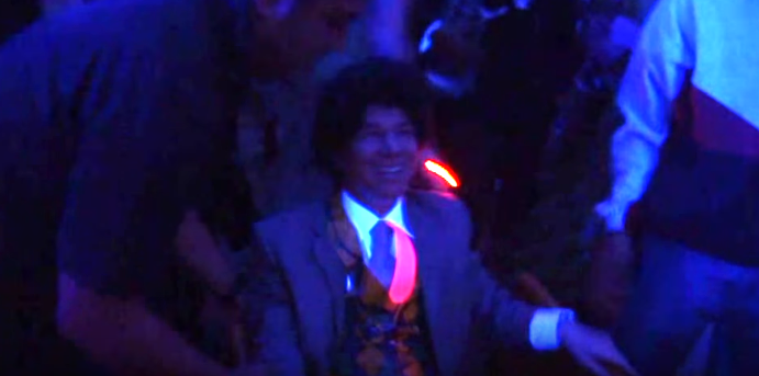 Ricardo Anaya en fiesta de Manuel Barreiro