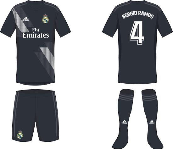 Se filtró el posible uniforme del Real Madrid para la 2018-2019 0163a2f710f62